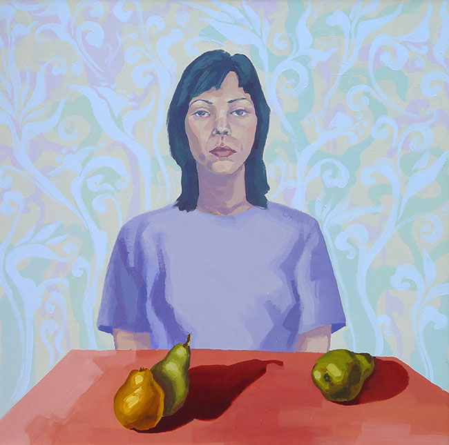 Self Portrait With Still Life